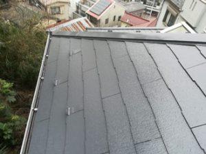 屋根外壁塗装と雨樋清掃後