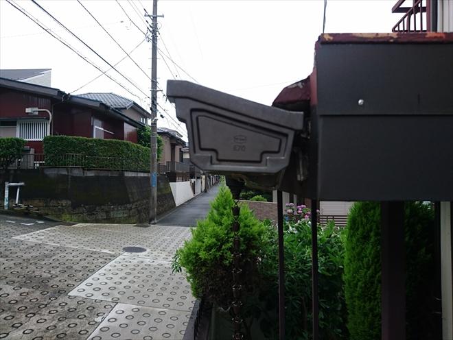 廃盤であるエスロンE70の雨樋調査|横浜市旭区