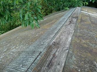 棟板金がない屋根の調査|横浜市港北区