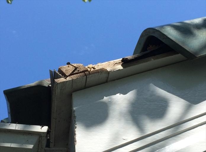 強風で落下した洋瓦を元に戻してお悩みを解決|横浜市中区