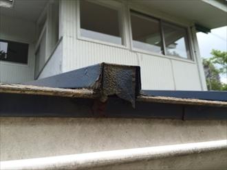 瓦棒葺き屋根の調査3