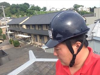 棟板金が飛散して雨漏りするときはこのような状態のとき|横浜市西区