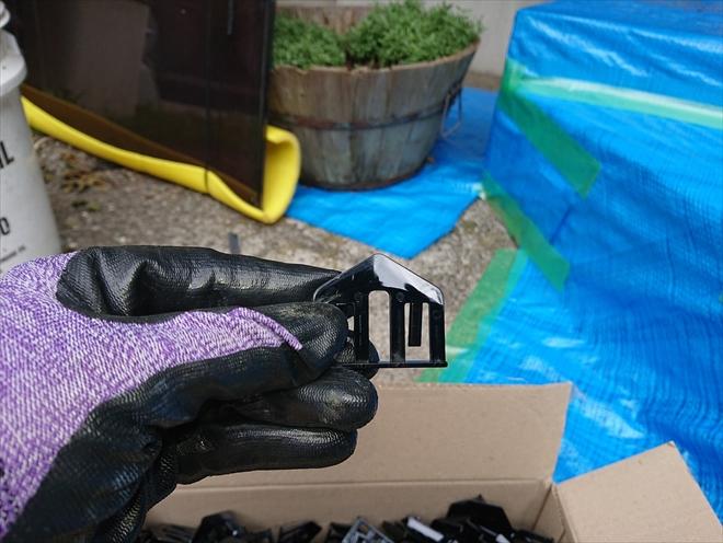 雨漏りを防ぐタスペーサー|横浜市港北区