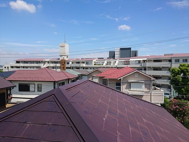 棟板金の痛みはよく訪問業者に指摘されます|横浜市泉区