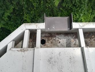 箱樋集水部分