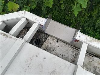 箱樋集水部分j加工