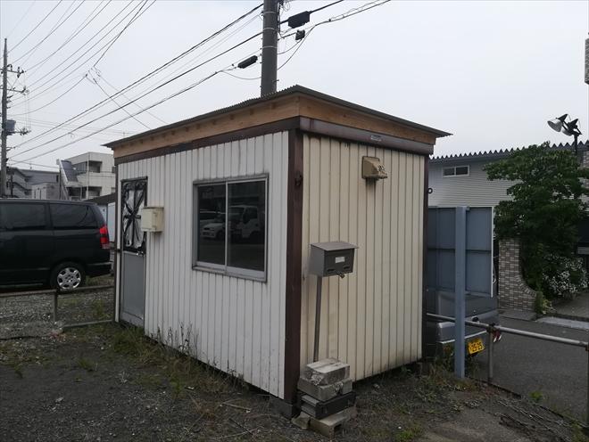 横浜市都筑区|プレハブ小屋の屋根工事、雨漏り対策に下地から屋根を造りました
