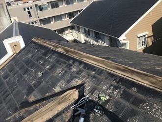 台風シーズンでの屋根被害は棟板金に関わる被害が多い|横浜市都筑区