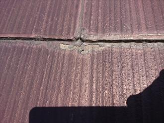 棟板金よりもスレート屋根が心配でした|横浜市泉区