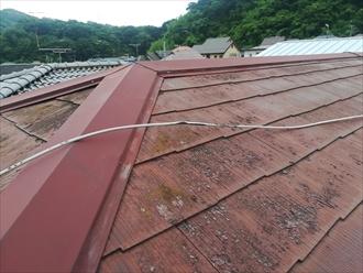 横須賀市で屋根点検・既存の屋根(下地)を活かしてカバー工法、錆に強いガルバリウム鋼板がお勧めです