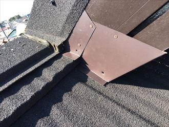 破風板板金カバー