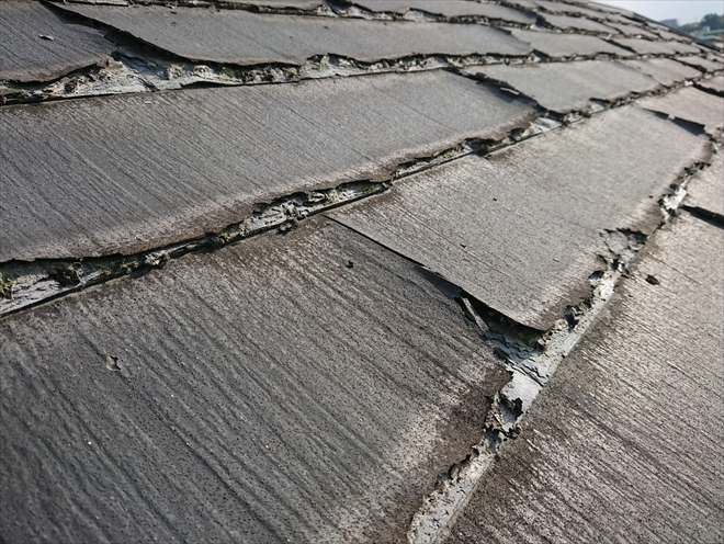 横浜市青葉区でニチハパミール調査をし、屋根カバー工法のご提案