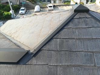 横須賀市で棟板金の調査依頼、飛散してると言われた棟板金は問題なし
