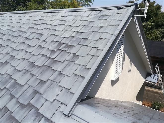 横浜市戸塚区にて築30年の屋根調査、これまでの屋根材を活かして屋根カバー工事のご提案