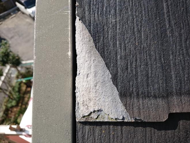 横浜市瀬谷区にて築13年で初めての屋根塗装、ニチハパミールの為カバー工事のご提案を致しました