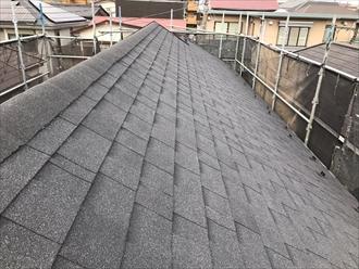 横浜市戸塚区の屋根カバー工事、トップライトと撤去してオークリッジスーパーを使用