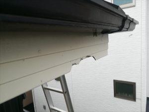 破風板破損