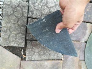 スレート瓦の欠片