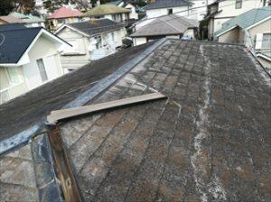 屋根材の劣化具合