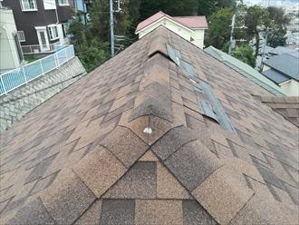 T様宅屋根