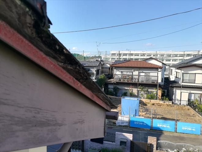 屋根ケラバ部分