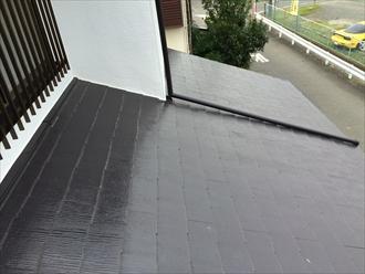雨漏りしている化粧スレート屋根