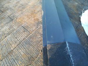 新規板金(ガルバリウム鋼板)設置