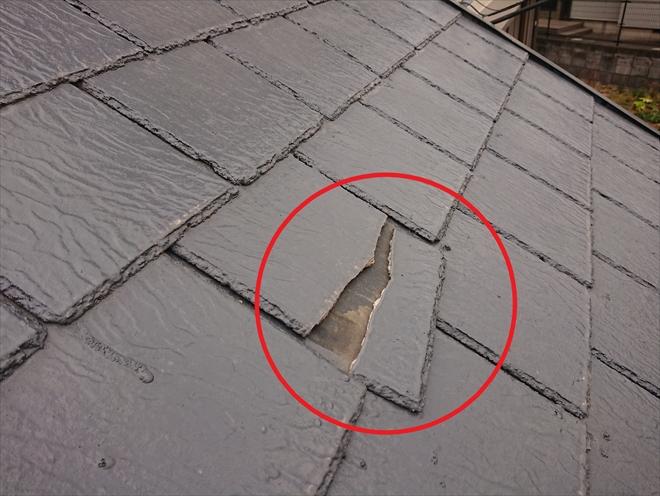 横浜市都筑区牛久保にて不安を抱えていた台風後の屋根(アーバニー)を調査