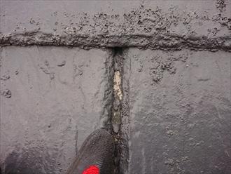 アーバニーのスリット部がきちんと塗装がされていないせいか素地が出てしまっている所も多く再塗装は厳しい状態を言えます。無理に塗装したとしても数年で塗膜が剥がれるのは目に見えています。