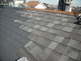屋根材葺き直し