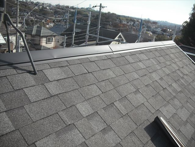 屋根補修工事完了