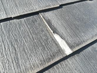 横浜市港北区新吉田東にて屋根材の表層剥離はパミールの疑い