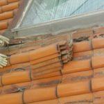 秦野市寺山にて誤ったラバーロック工法による雨漏りを防水紙交換と屋根葺き直しにて改善