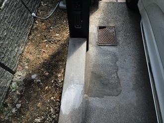 火災保険を用いたカーポート建て替え