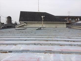 セキスイハウスの金属屋根塗装