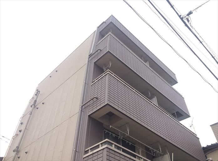 マンションの屋上の防水工事