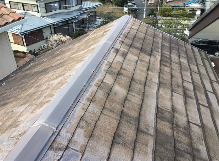 22年使用した化粧スレート屋根