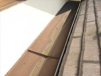 樋も板金屋根の一部です
