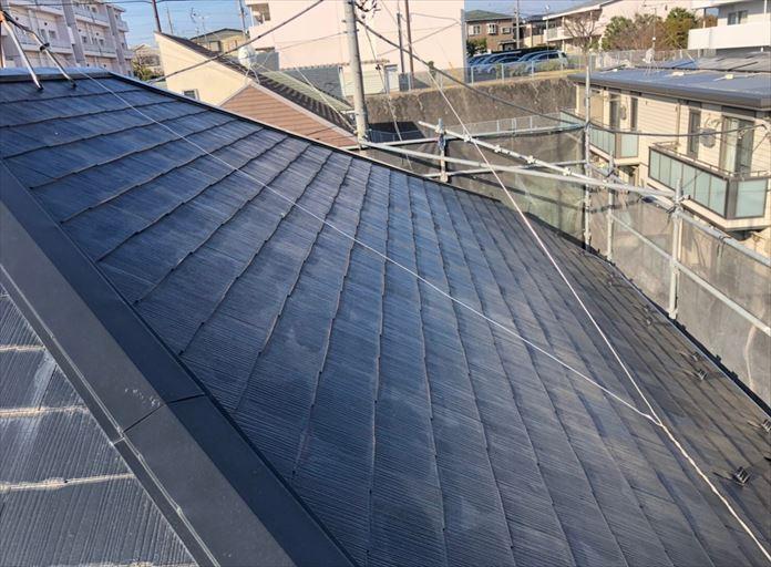 藤沢市大庭屋根葺き替え工事