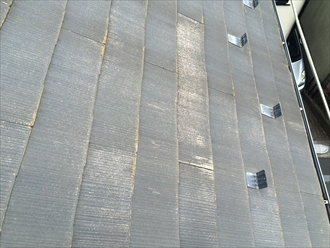 相模原市南区相南でスレート屋根の調査、スレートが割れだしたらメンテナンスの目安です