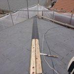 新規貫板・棟板金の設置