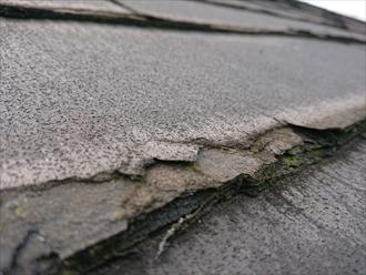 茅ヶ崎市芹沢では表層剥離が起き塗装ができない屋根材(ニチハパミール)が使われていた為屋根カバー工事にてお客様のご不安を解消します
