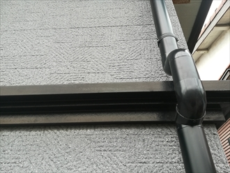 竪樋(丸型)設置
