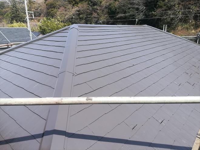 棟板金交換・屋根塗装工事完了