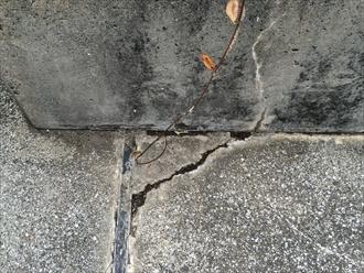 陸屋根の亀裂はメンテナンス