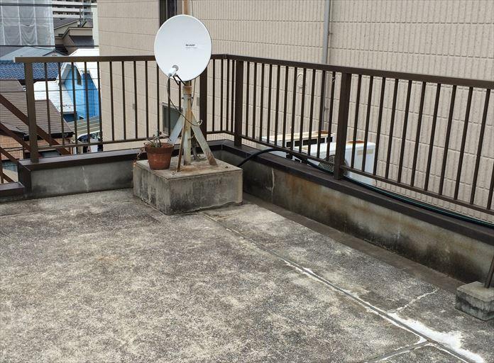 陸屋根のメンテナンス