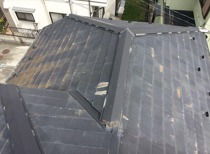 以前に塗装をされているスレート屋根