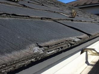 傷みすぎたスレートは屋根カバー工事か屋根葺き替え工事