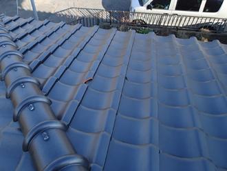 愛甲郡愛川町角田 屋根の瓦差し替え前の屋根