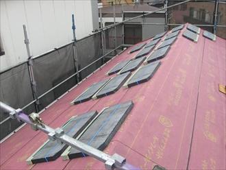 新規屋根材、コロニアルグラッサ